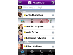 Now iPhone has got Yahoo Messenger with 3G Video Chat