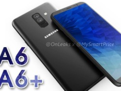 Samsung Galaxy A6+ leaked renders show the smartphone from all angles