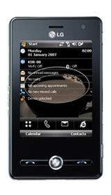windows mobile 6.5 on lg ks20